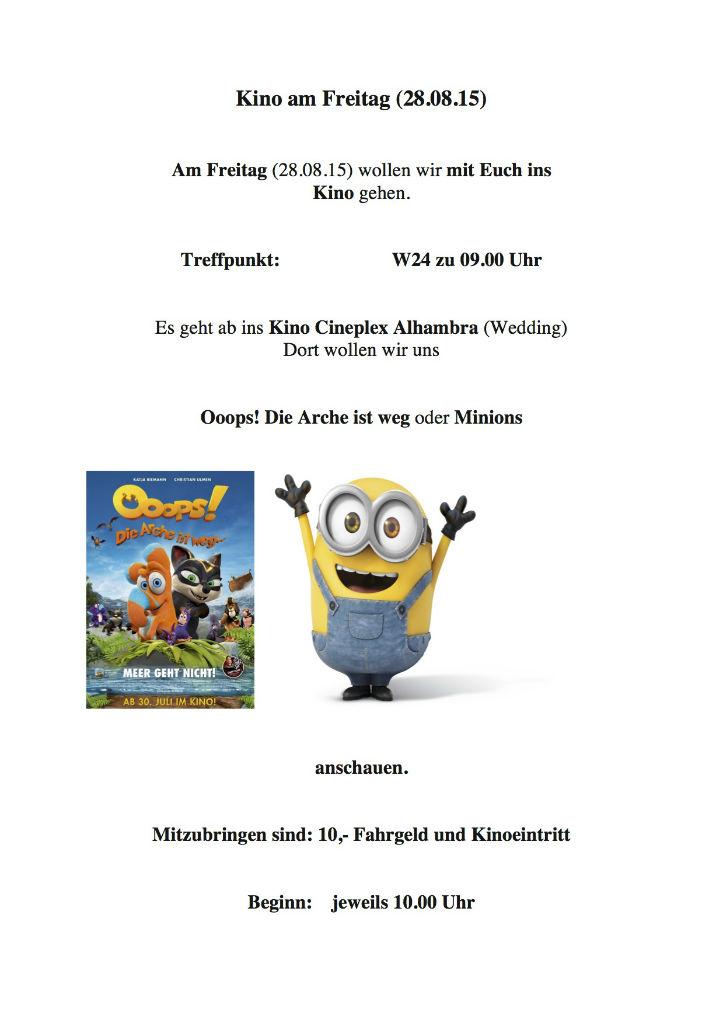 Kino am Freitag